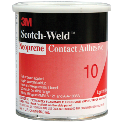 3M Fastbond 10 Contact Adhesive - 29-1068-00 - Item Photo