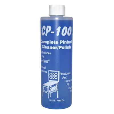 Gemini CP-100 Playfield Cleaner & Polish, 8 oz, 24/Case - 29-1051-00 - Item Photo
