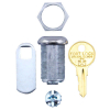 Valley Pool Table Lock Assembly, Keyed Alike #54 - 212-0056-0