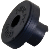 Black Rubber Body Stopper for Wacky Gator - 280-0008-00