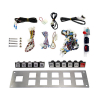 Harness with button kit and bracket - 24-0002-00