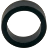 "1"" x 1/2"" Black Mini Flipper Rubber, 60 Durometer - 25-1001-06HD"
