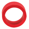 "1"" x 1/2"" Red Mini-Flipper Rubber, 60 Durometer - 25-1002-06HD"