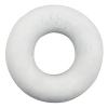 "3/8"" ID White Rubber Ring, 45 Durometer - 25-1020-01"