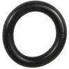 "1"" ID Black Rubber Ring, 50 Durometer - 25-1050-06HD"