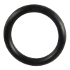 "1-1/2"" ID Black Rubber Ring, 50 Durometer - 25-1070-06HD"