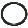 "2"" ID Black Rubber Ring, 50 Durometer - 25-1080-06HD"