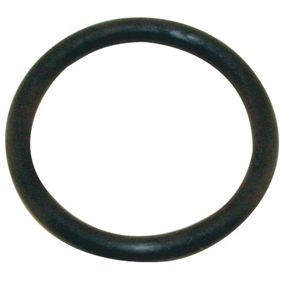 "3/8"" ID Black Rubber Ring, 50 Durometer - 25-1020-06HD - Item Photo"