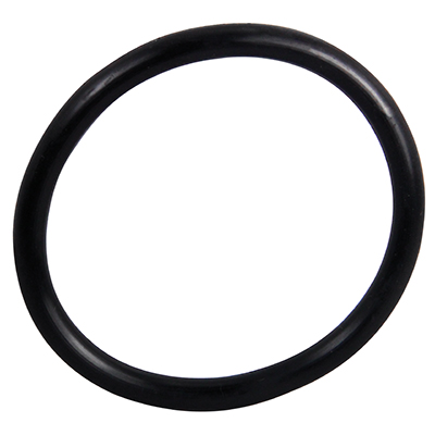 "2-1/2"" ID Black Rubber Ring, 50 Durometer - 25-1090-06HD - Item Photo"