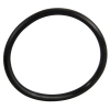 "3"" ID Black Rubber Ring, 50 Durometer - 25-1100-06HD"