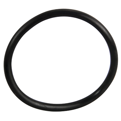 "3"" ID Black Rubber Ring, 50 Durometer - 25-1100-06HD - Item Photo"