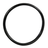"3-1/2"" ID Black Rubber Ring, 50 Durometer - 25-1200-06HD"