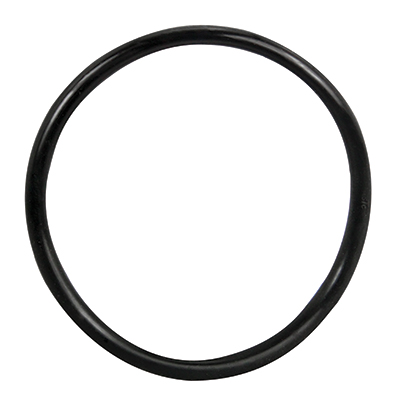"3-1/2"" ID Black Rubber Ring, 50 Durometer - 25-1200-06HD - Item Photo"