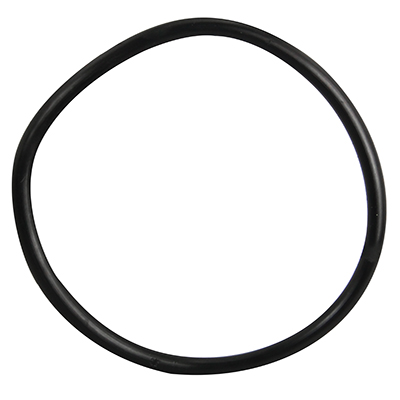 "4"" ID Black Rubber Ring, 50 Durometer - 25-1250-06HD - Item Photo"