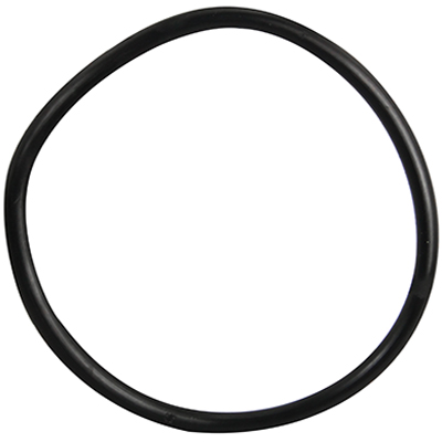 "4-1/2"" ID Black Rubber Ring, 50 Durometer - 25-1300-06HD - Item Photo"
