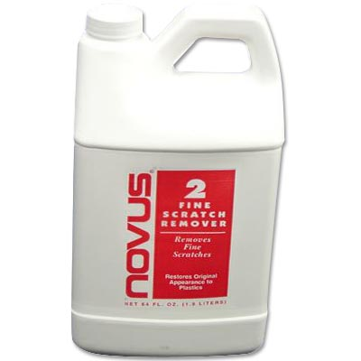 Novus #2 Cleaner & Polish, 64 oz Bottle, 12 per Case - 25-1331-00 - Item Photo