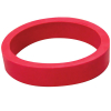 "1-1/2"" x 3/8"" Red Flipper Rubber, 45 Durometer - 25-1338-00"