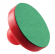 "Red Mallet, 3-1/2"" Diameter with Green Felt on Bottom - 26-0611-00"