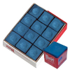 Master Chalk Blue Cue Chalk, Box of 12 - 26-1023-12B
