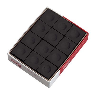 Master Black Cue Chalk (12 pack) - 26-1023-12BLK - Item Photo