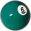 "Belgian 2-1/4"" green #6 Ball - 26-1027-06B"