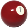 "Belgian 2-1/4"" #7 dark red Ball - 26-1027-07B"