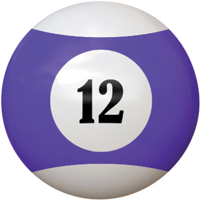 "2-1/4"" purple/white #12 Ball - 26-1027-12E - Item Photo"