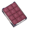 Silver Cup Burgundy Cue Chalk, Box of 12 - 26-1051-12BUR