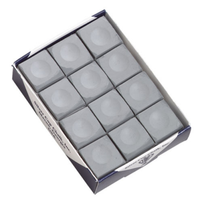 Silver Cup Pewter Cue Chalk (12 pack) - 26-1051-12PW - Item Photo