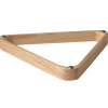 15 Ball Wood Triangle Rack With Gliders - 26-1400-00