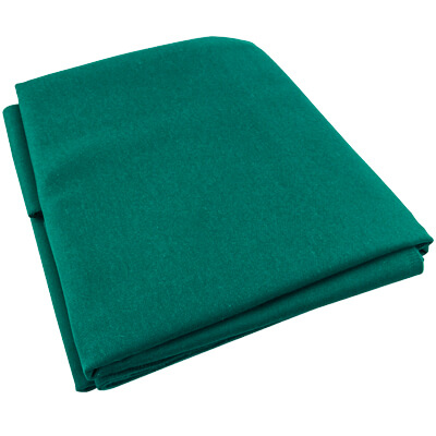 Table Pro Mercury Ultra, Standard Green, Pre- Cut Cloth, 8 Ft. Table, Un-backed - 26-1599-008 - Item Photo