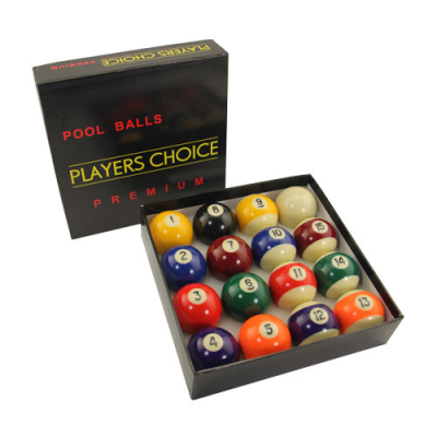 "Ball Set With 2-3/8"" Cue Ball - 26-1017-10 - Item Photo"