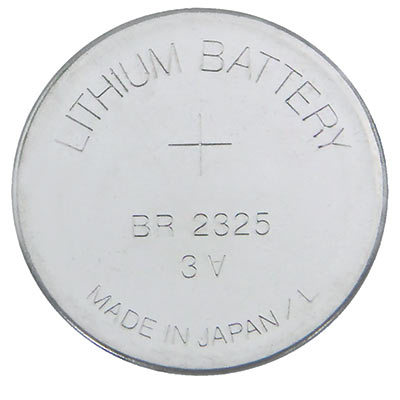3V Lithium Battery, Coin Cell - 27-0022-00 - Item Photo
