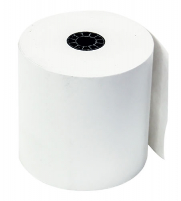 "1 ply Bond Roll of Paper; 3"" x 165 ft. for Citizen Printer - 27-0208-00 - Item Photo"