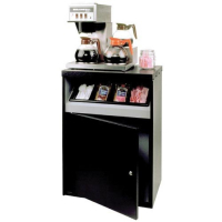 27-1446-00 - Office Coffee Stand With Condiment Tray (Without Lower Storage Shelf)