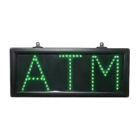 28-0007-00 - Green LED ATM Sign, 7