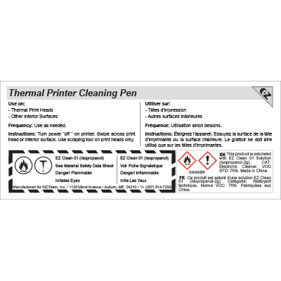 Thermal Printer CLEAN-PENN™ - 29-0003-00 - Item Photo