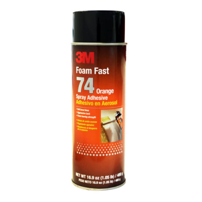 3M Spray Adhesive # 74 - 29-1006-00 - Item Photo