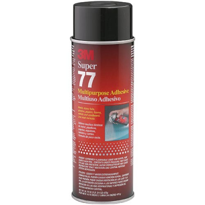 3M Spray Adhesive # 77 - 29-1008-00 - Item Photo