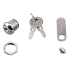 "5/8"" SINGLE BITTED LOCK 12-3 KEY PULL W/1-1/2"" CAM & 2 KEYS - 30-2223-KD"