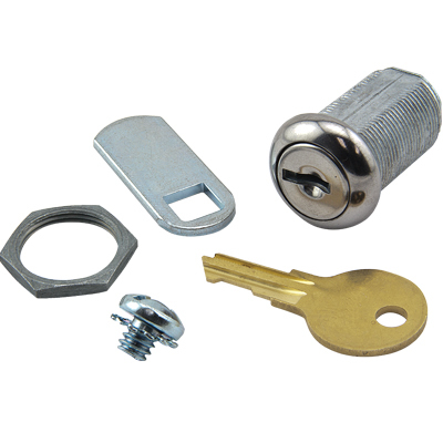 "1-1/8"" Single Bitted Fort Type Lock, Keyed Alike, Key #SB96 - 30-4724-SB96 - Item Photo"