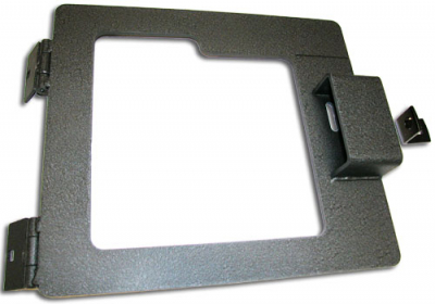 Heavy Duty Over-Under Mid-Width Door Hasp - 30-0300-00 - Item Photo