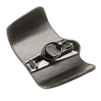 30-0436-00 - Leather Key-Bak Key Protector with Belt Carrier