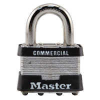 30-1207-000 - Master Lock #3 Padlock, Keyed Different