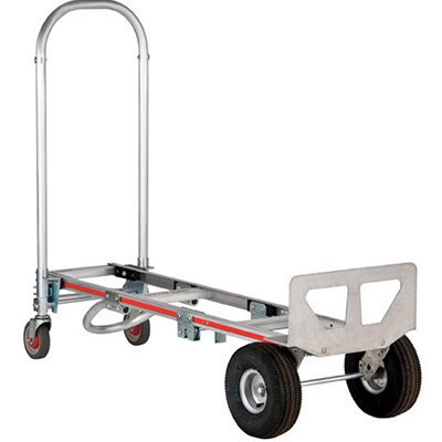 "Magliner Gemini Sr. Convertible Hand Truck with 10"" Pneumatic Tires - 33-1001-00 - Item Photo"