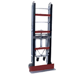 "Stevens 60"" Lightweight Magnesium Hand Truck (with drop-down wheels) MRT-M-60 - 33-1123-00 - Item Photo"