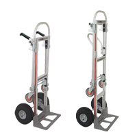 33-1000-00 - Magliner Gemini Jr. convertible hand truck with Pneumatic Tires & double grip handles