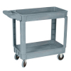 "Wesco 36""x24"" 2-Shelf Service Cart - 33-1499-00"
