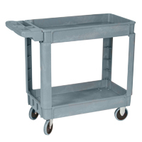"Wesco 30""x16"" 2-Shelf Service Cart - 33-1497-00 - Item Photo"