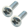 6-32 x 1/4 Pan Head Phillips Machine Screw, Zinc Finish - 43-0772-00